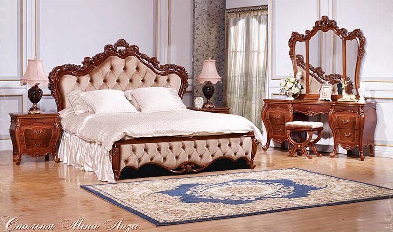 Спальня Мона Лиза Орех
