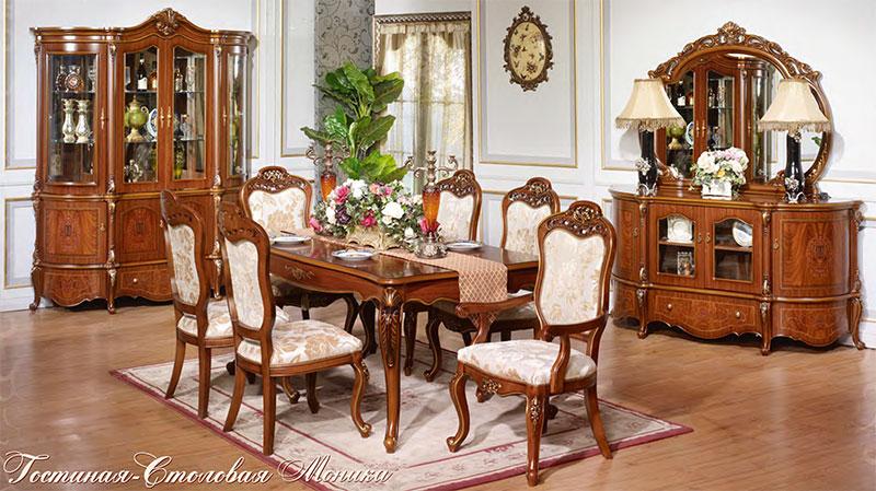 Гостиная-столовая Моника