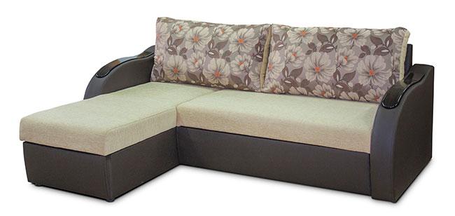 Диван-кровать угловой