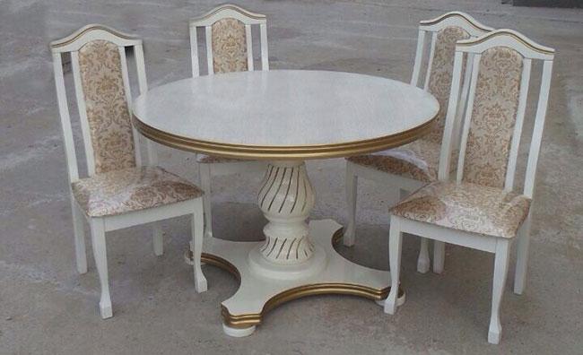 Стол обеденный круглый ВК-1