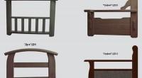 Варианты подлокотников для диванов Еврокомфорт