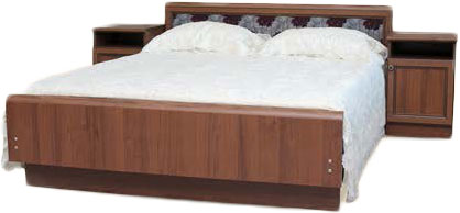 Кровать Шанс (орех)