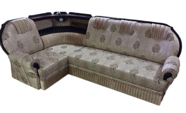 Диван-кровать угловой Веста с баром