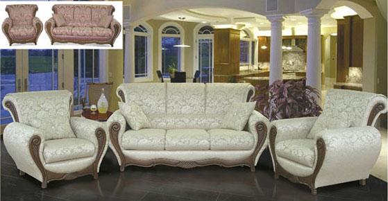 Набор мягкой мебели Лель 21К