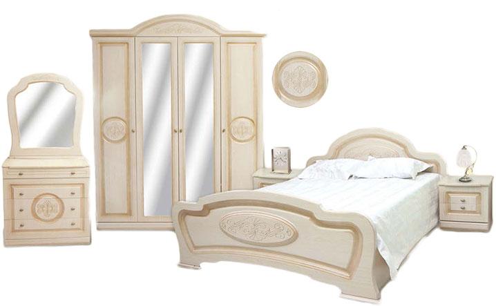 Спальня София (4 дв. шкаф)